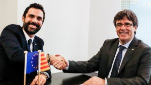 Roger Torrent no descarta poder investir Carles Puigdemont