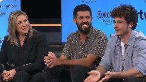 Rueda de prensa de TVE para hablar sobre la canción de Eurovisión elegida