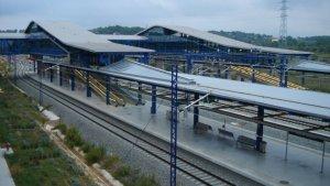 Una imatge d'arxiu de l'estació de l'AVE Camp de Tarragona.