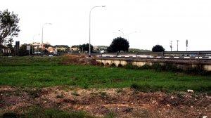 Una imatge de punt en què s'ubicarà la bassa de laminació, al pontet, en terme municipal d'Altafulla