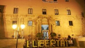 Una imatge d'una concentració independentista a Torredembarra, fa alguns mesos.