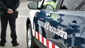 Una patrulla de Mossos