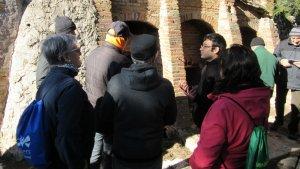 Unes 40 persones van participar dissabte 12 de gener en la caminada de La Ruta de les Antigues Guixeres de Vilaverd.