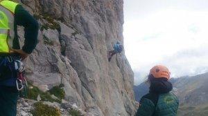 Unos montañeros han encontrado el cuerpo de una mujer en los Picos de Europa.