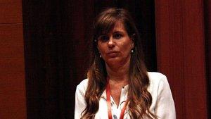 Victoria Álvarez, ex de Jordi Pujol Jr., al Parlament