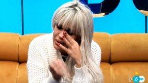 Ylenia Padilla se derrumba