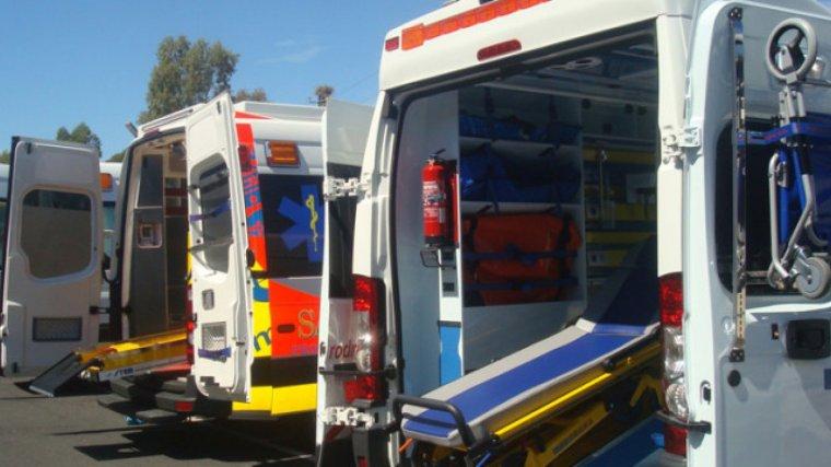 Las asistencias que acudieron al lugar trasladaron a la herida a un centro médico
