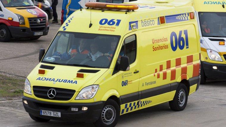 Emergencias 061 de Galicia.