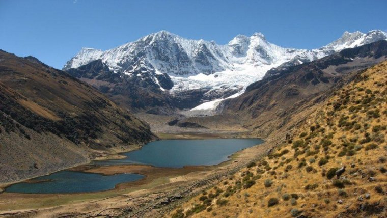 Imagen de archivo de los Andes de Perú