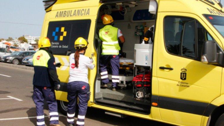 Las asistencias de Tenerife atendieron y trasladaron a los cinco heridos