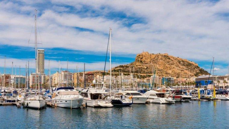 Imagen del puerto de Alicante