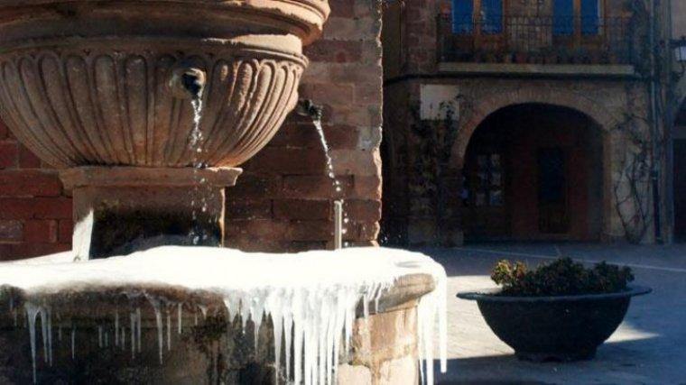 Les glaçades són generals a Catalunya en episodis de fred