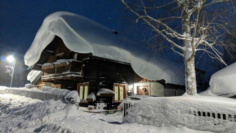 La neu està deixant gruixos de fins a 3 metres als Alps