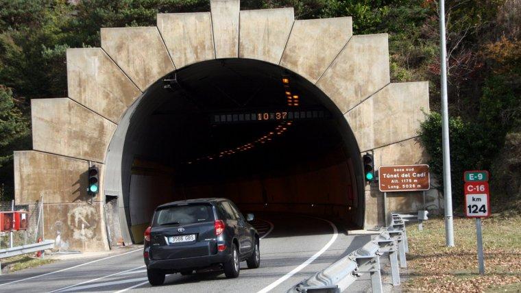 L'autopista que passa pel túnel del Cadí és la més cara de Catalunya.