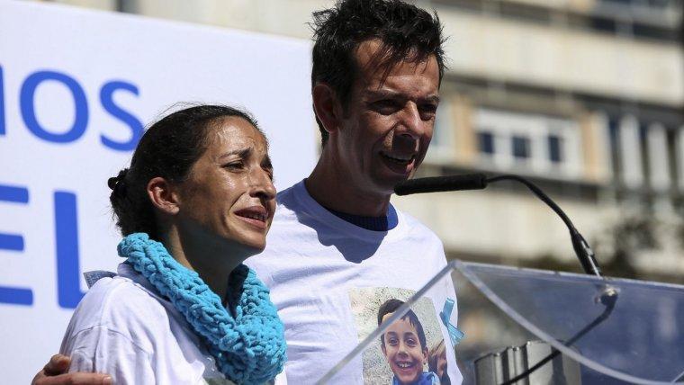 Patricia Ramírez y Ángel Cruz, los padres del pequeño Gabriel