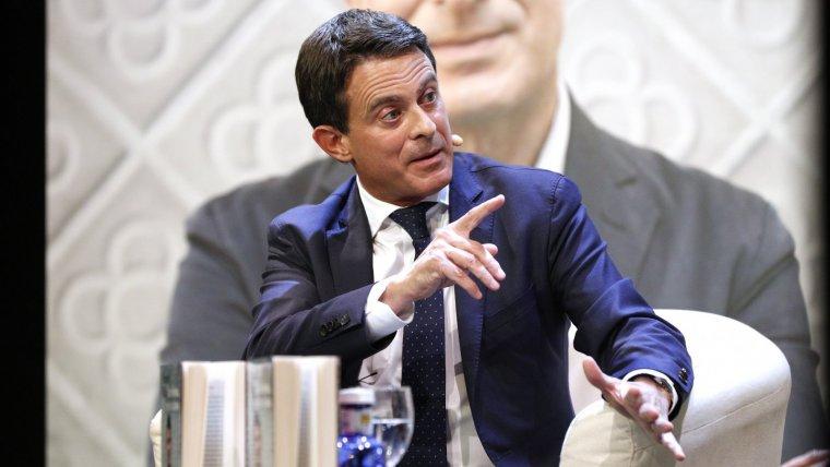 Manuel Valls afirma que és el candidat de les «elits»