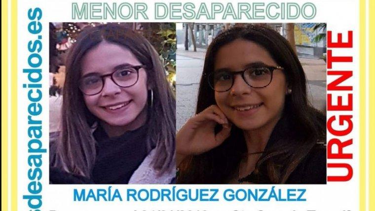 María Rodríguez González, menor de 17 años desaparecida desde el 4 de enero en Santa Cruz de Tenerife