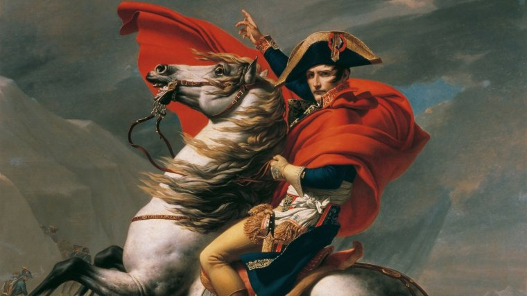 Cuadro de Napoleón Bonaparte.
