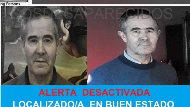 Rafael Serrano había desaparecido este marte