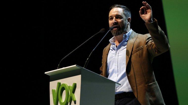Sergio Abascal, líder de VOX