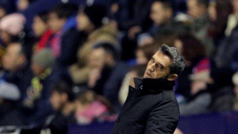 Valverde es lamenta amb un dels gols del Llevant
