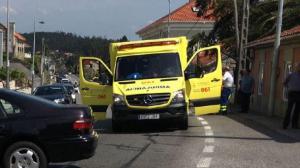 Accidente en Poio, Pontevedra