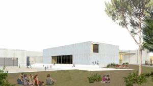 Així serà el nou gimnàs de l'escola La Portalada d'Altafulla.