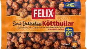 Alerta por presencia de trazas de huevo en las albóndigas congeladas de la marca sueca Felix