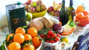 Aliments típics de la dieta mediterrània