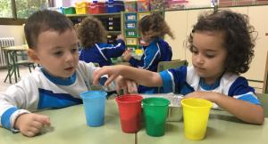 Alumnes d'Educació Infantil de l'escola Maria Rosa Molas de Reus