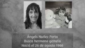 Ángels Núñez busca la seva germana bessona a través de la xarxa social Twitter