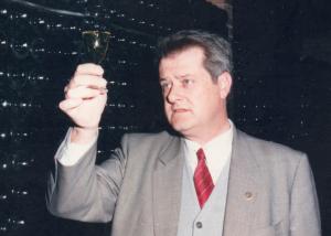 Antonio Mestres Sagués, en una foto de fa uns anys