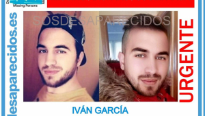 Anuncio de la desaparición de Iván García García
