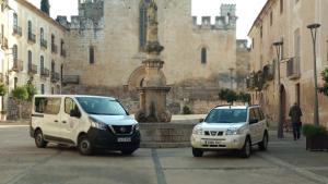 Aquests són els dos nous vehicles adquirits per l'Ajuntament.