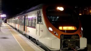 Un tren averiat provoca grans problemes entre Sants i Bellvitge