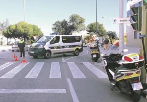 Control de la Policia Local de Castelló