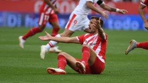 Cristhian Stuani va anotar dos gols en el partit contra l'Eibar de la primera volta, però el Girona va acabar perdent per 2 a 3.