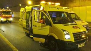 Cuatro heridos en un accidente de tráfico a la altura de Albolote (Granada)