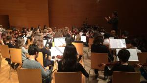 Dos-cents estudiants de música de la regió de Tarragona participaran en la 17a Trobada d'Orquestres de Nivell Elemental