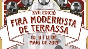 El cartell de la XVII edició de la Fira Modernista