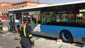El conductor ha perdido el control tras sufrir un síncope