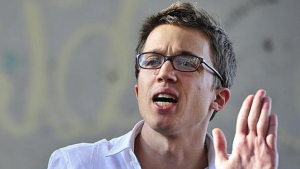 El dirigen de Podemos, Íñigo Errejón