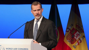 El discurs del rei al World Law Congress 2019
