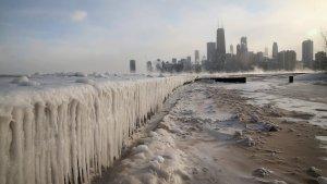 El fred ha col·lapsat ciutats com Chicago