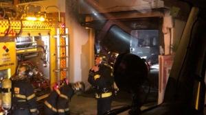 El fuego se ha producido en el garaje de la vivienda que era utilizado como taller