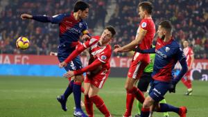 El Girona ha enllaçat avui la sisena derrota consecutiva.