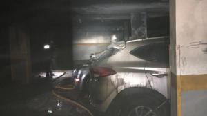 El incendio se ha producido en el garaje del edificio 'Bucare'