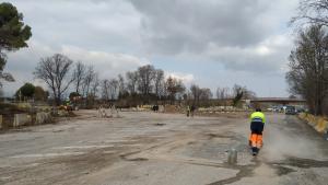 El nou pàrquing dissuasiu de Tarragona, a la carretera de València, tindrà 220 places.