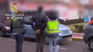 El preso ha sido detenido en una operación conjunta de la Guardia Civil y a Policía Nacional