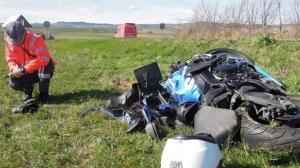 El vehículo ha quedado en este estado tras el accidente